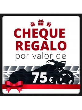 Cheque Regalo 75€