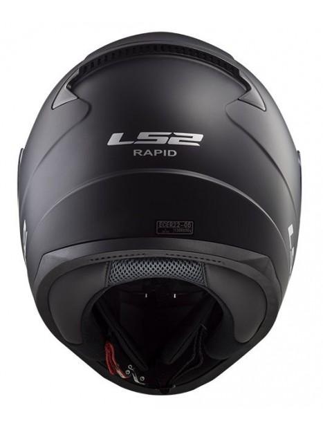 CASCO LS2 FF353 RAPID NEGRO MATE