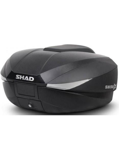 MALETA SHAD SH58X  (TAPA CARBONO GRATIS)