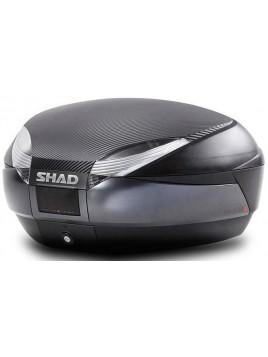 MALETA SHAD SH48 GRIS OSCURO (RESPALDO Y SOBRE TAPA DE REGALO)