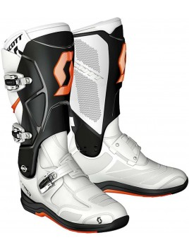 BOTAS SCOTT 550 SERIES BLANCO NEGRO