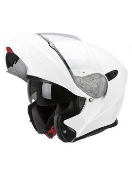 CASCO MODULAR O ABATIBLE SCORPION EXO 920 BLANCO