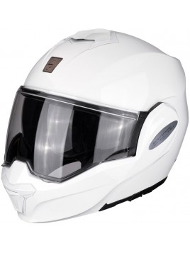 CASCO MODULAR O ABATIBLE SCORPION EXO TECH BLANCO