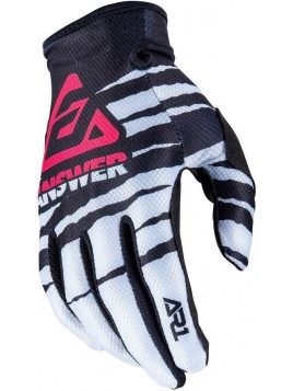 GUANTES ANSWER AR1 PRO BLANCO