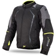 CHAQUETA SEVENTY DEGREES SD-JR47 NEGRO AMARILLO
