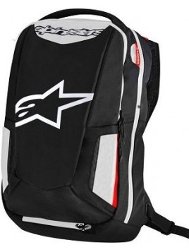 MOCHILA ALPINESTARS CITY HUNTER NEGRO BLANCO