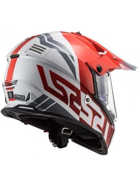 CASCO LS2 FAST MX436 PIONEER EVO EVOLVE ROJO